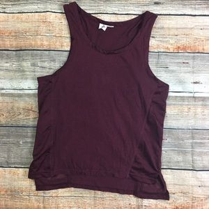 Urban Outfitters | Burgundy Jersey Tank
